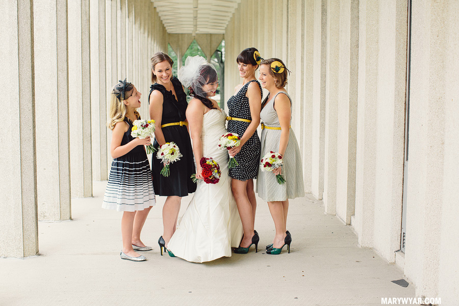 AimeeMatthew-detroit-wedding-photographer-piquette-plant-chevron-modern-black-white-teal-mid-century44.jpg