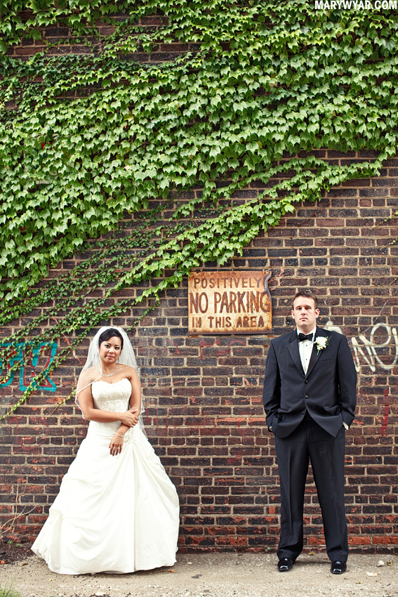 Cleveland Wedding Photographer Windows on the River