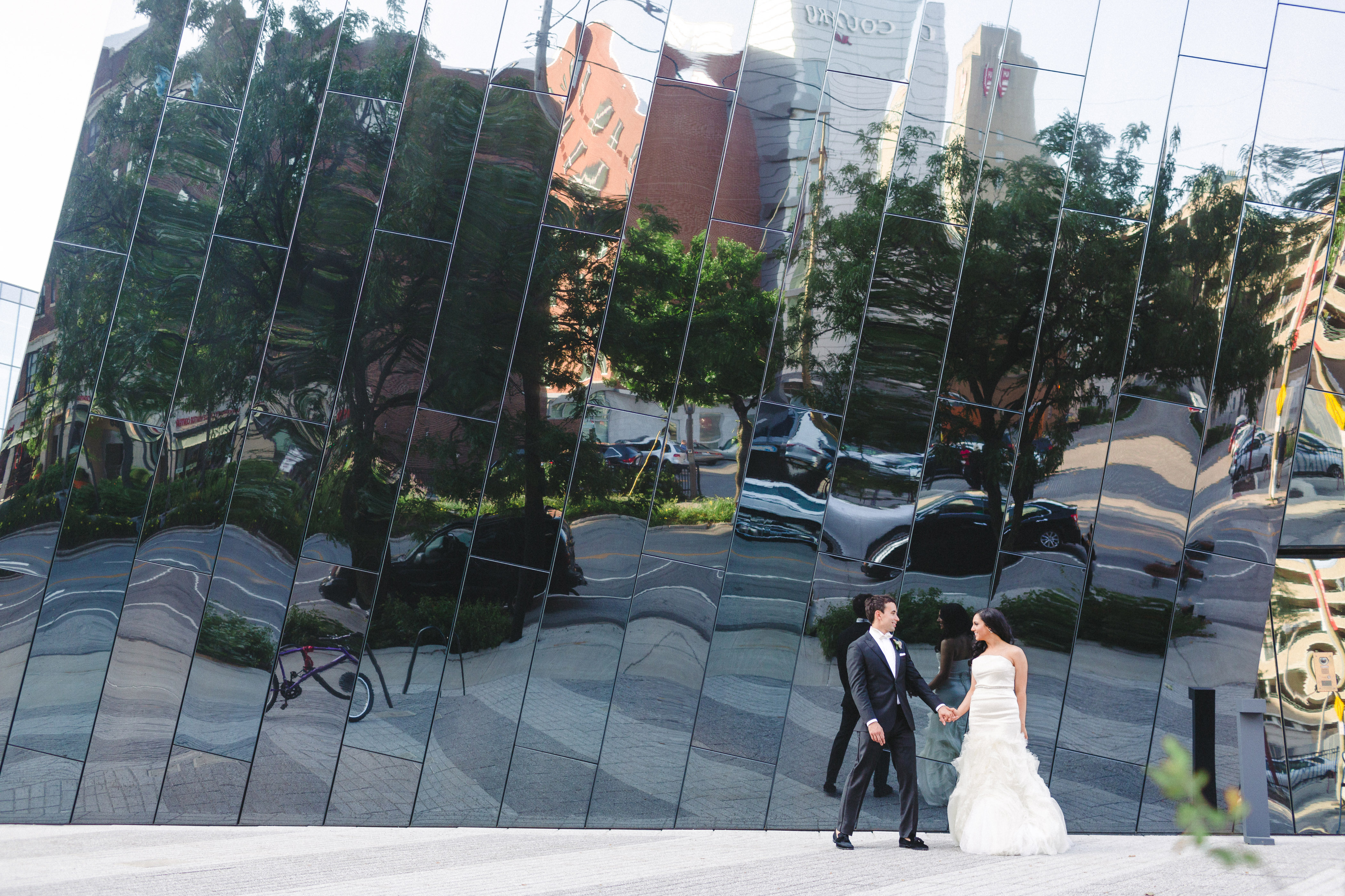 MOCA Cleveland Wedding Photos