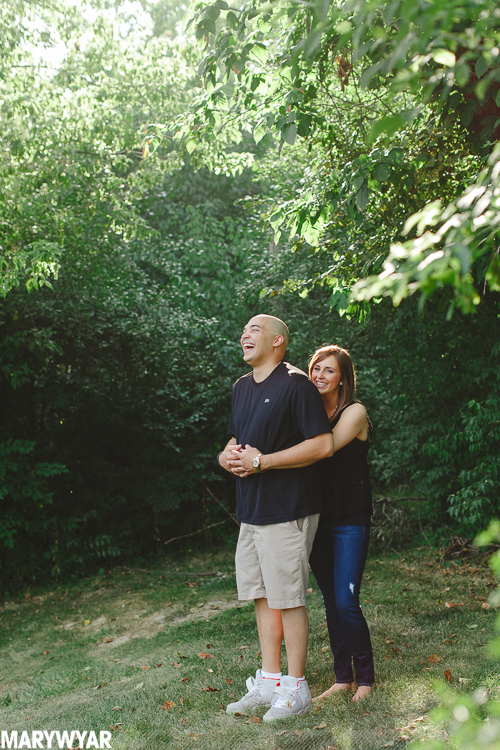 Sylvania Toledo Modern Engagement Photos