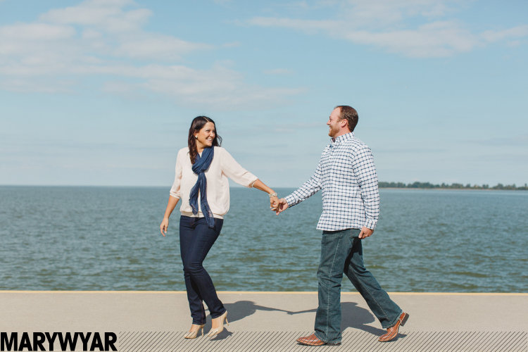 Maumee Bay Wedding Engagement Photos