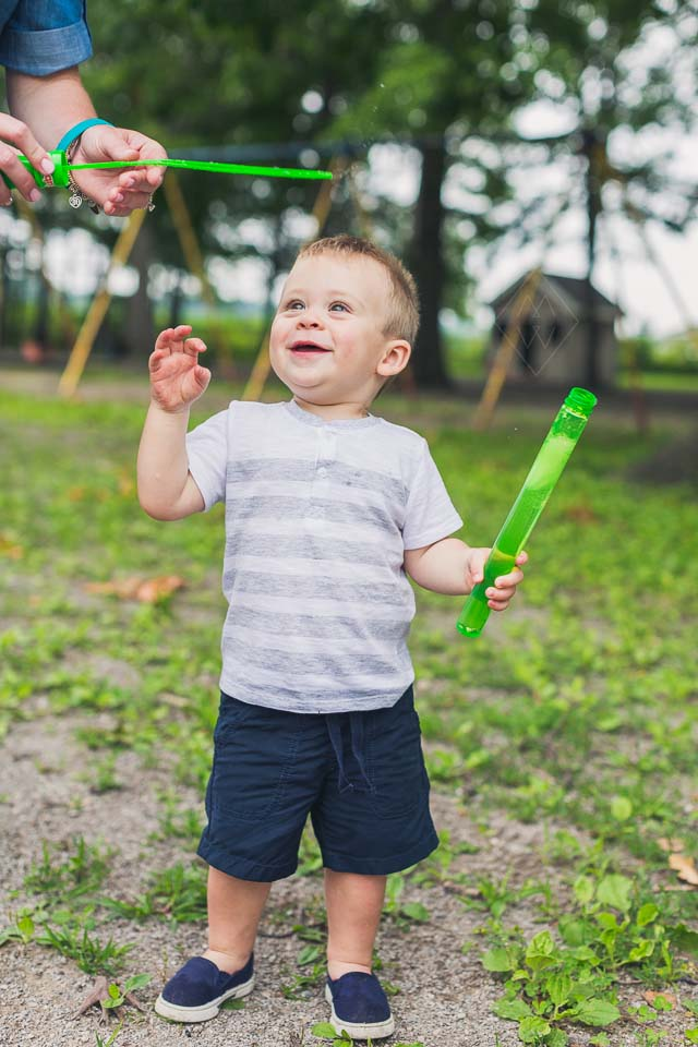 Toledo Family Lifestyle Photos Modern Fun Toddler Session at Playground