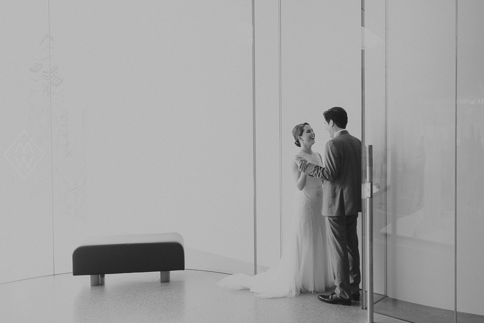 Toledo Museum of Art Glass Pavilion Wedding Photos Saint Patrick