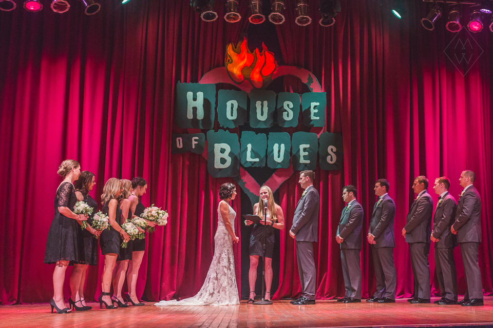 Cleveland House of Blues Wedding Arcade Photos