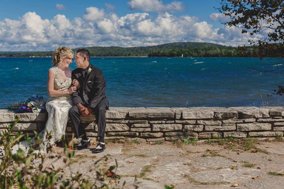 Upper Peninsula UP Michigan Munising Wedding Photos-019
