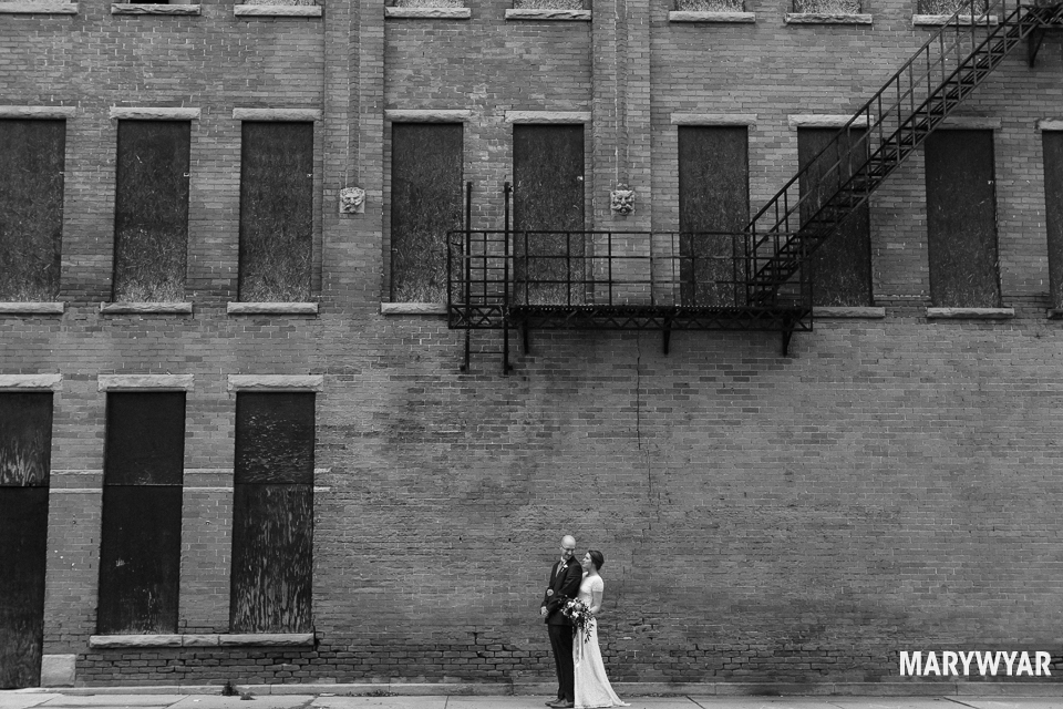black and white noir wedding photos toledo photography-015