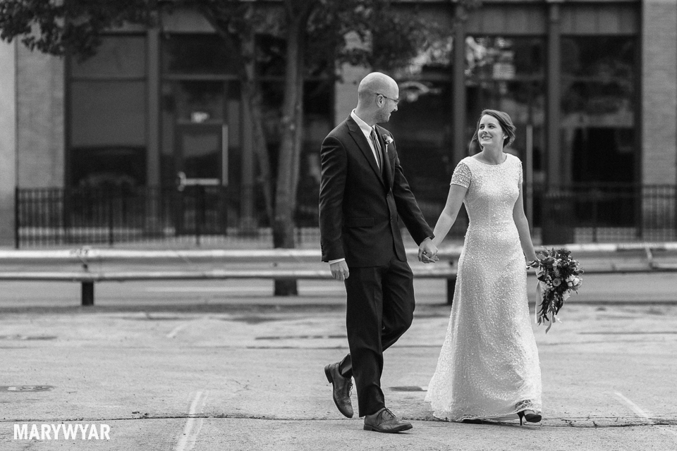 black and white noir wedding photos toledo photography-019