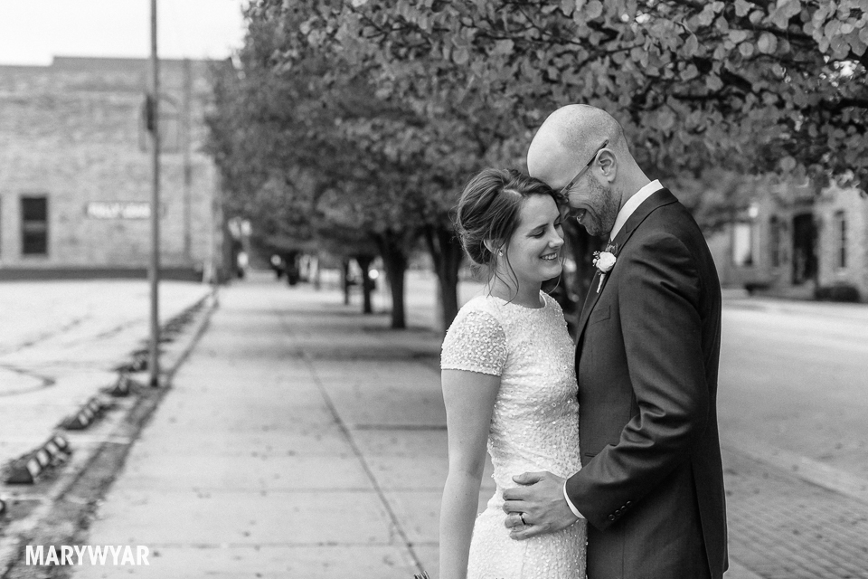 black and white noir wedding photos toledo photography-020