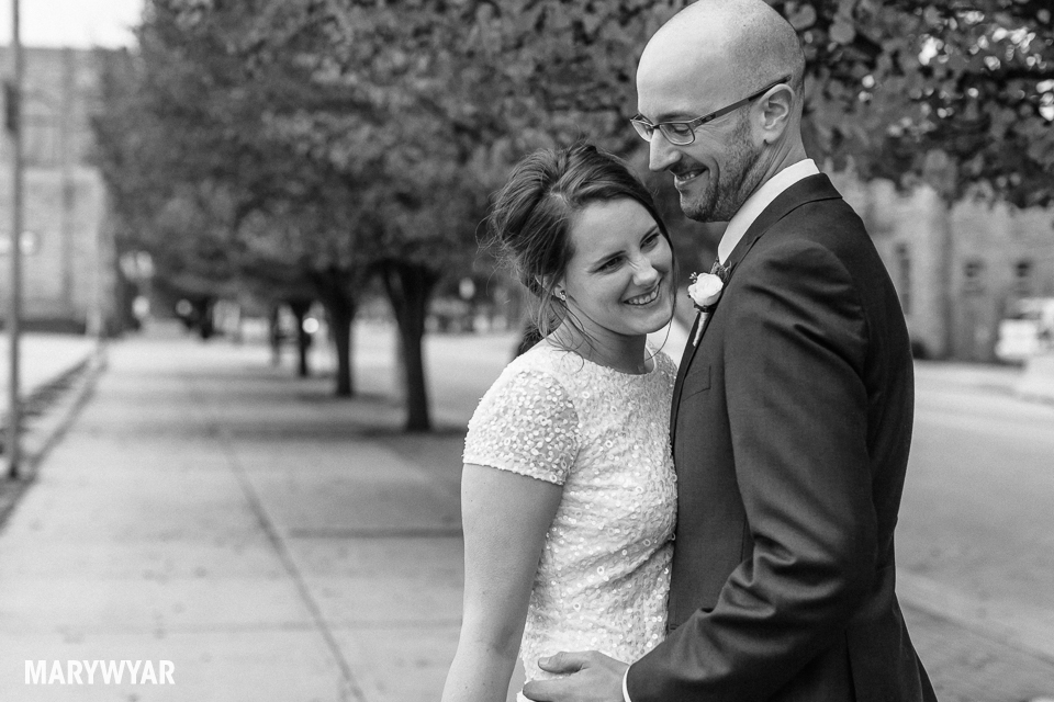 black and white noir wedding photos toledo photography-021
