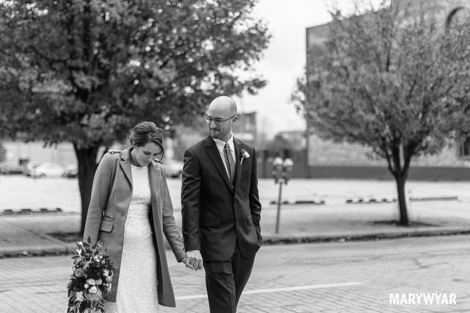 black and white noir wedding photos toledo photography-022