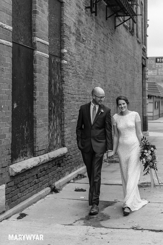 Toledo Wedding Photos Hensville Fall Downtown