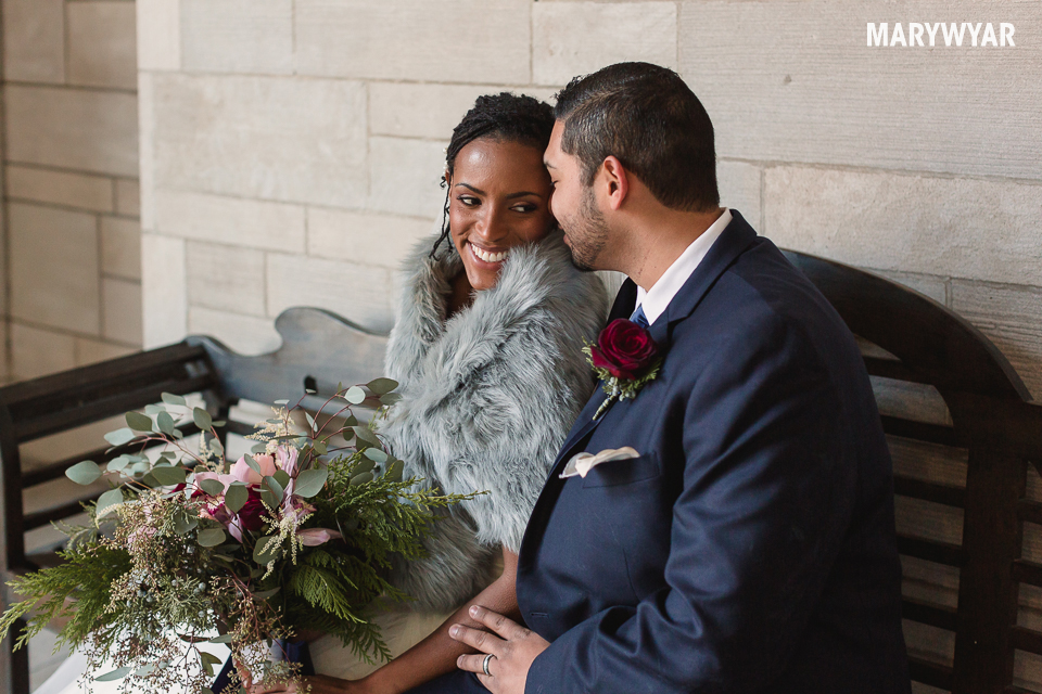 Downtown Toledo Winter Wedding Simply Married Element 112