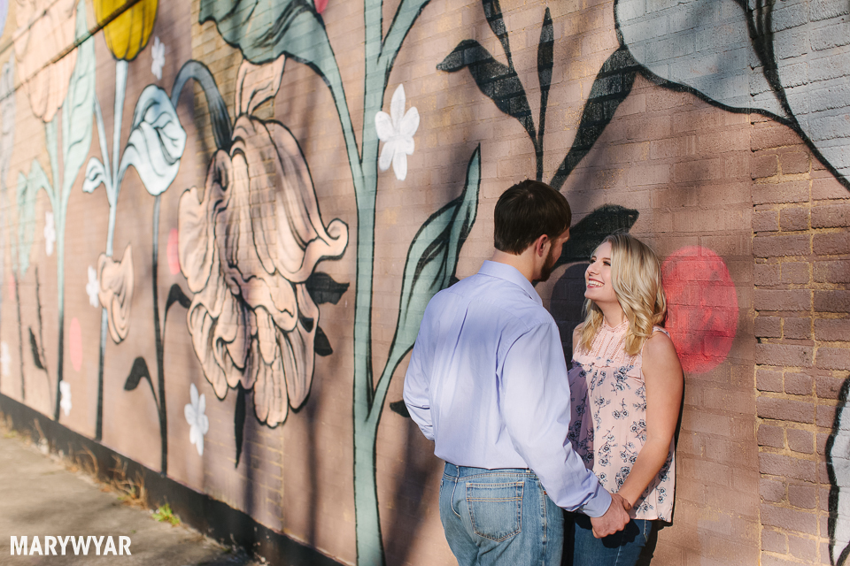 Toledo Mural Ouizi Engagement Photos
