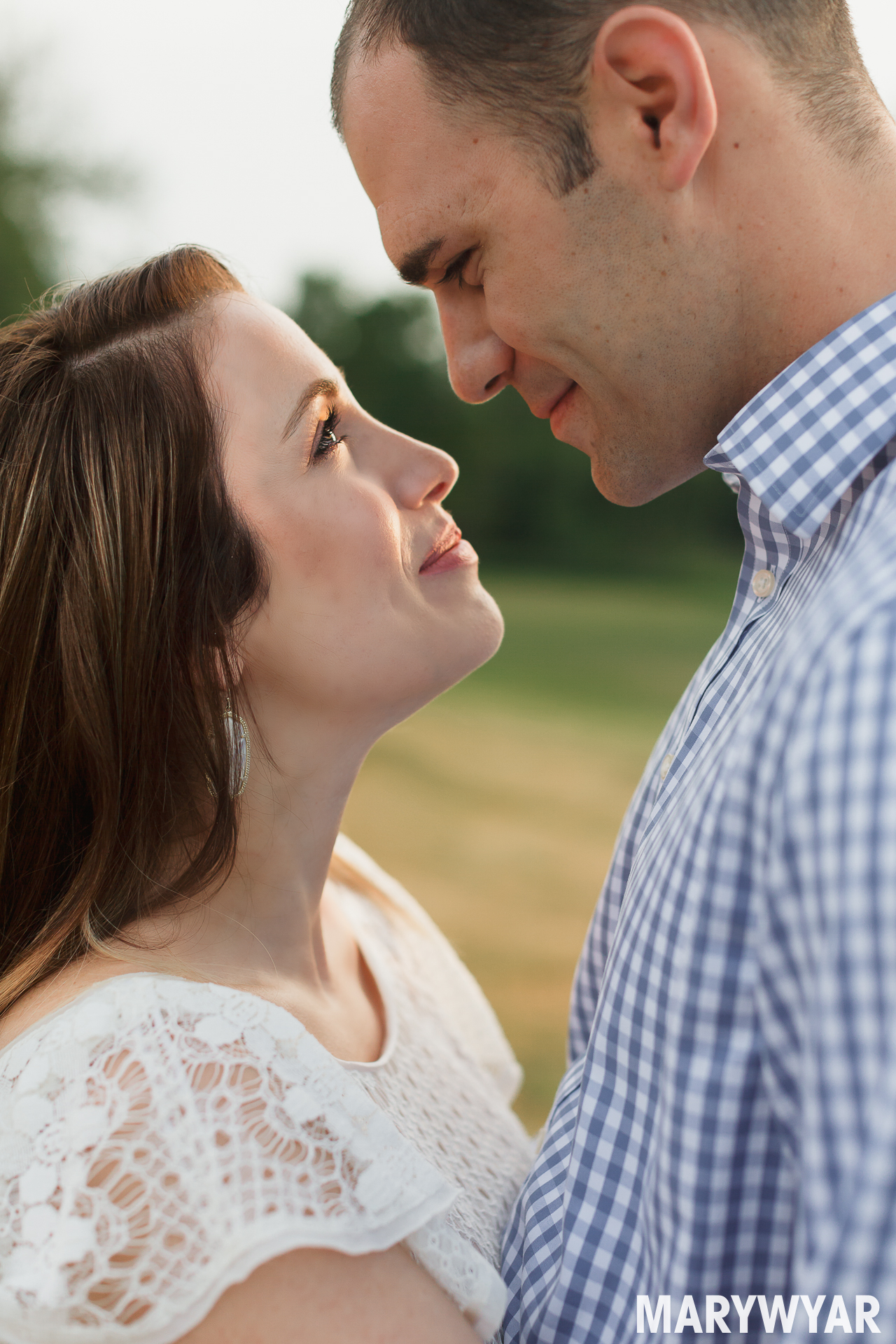 Sylvania Toledo wedding photographer sunrise engagement photos