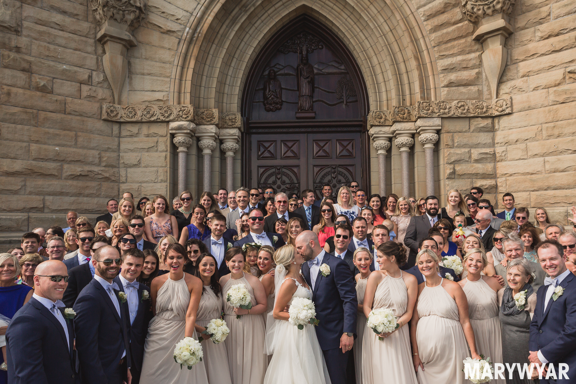 Historic Saint Patrick Toledo Downtown Church Wedding Photos