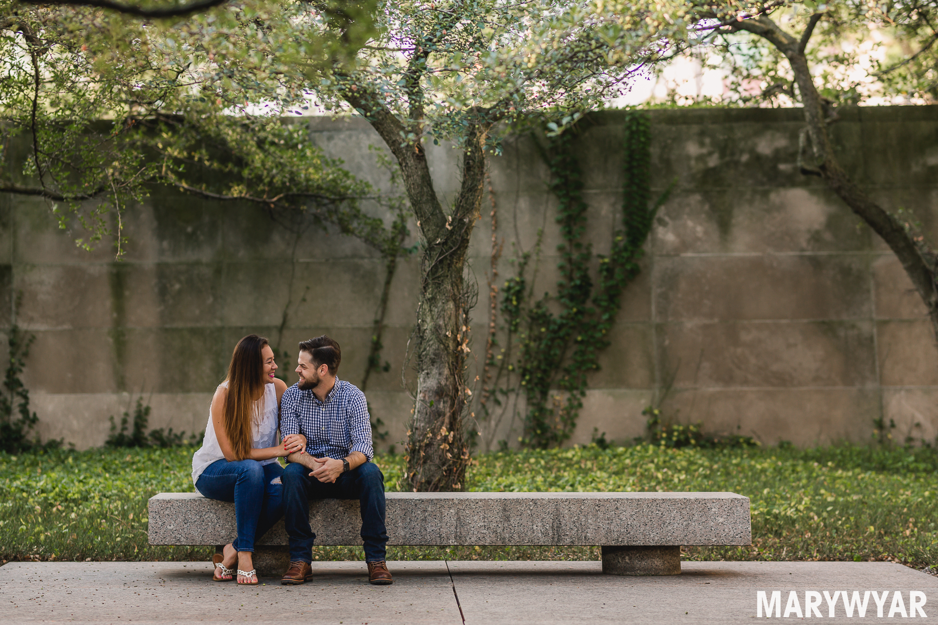 Chicago Art Institute Engagement photo-