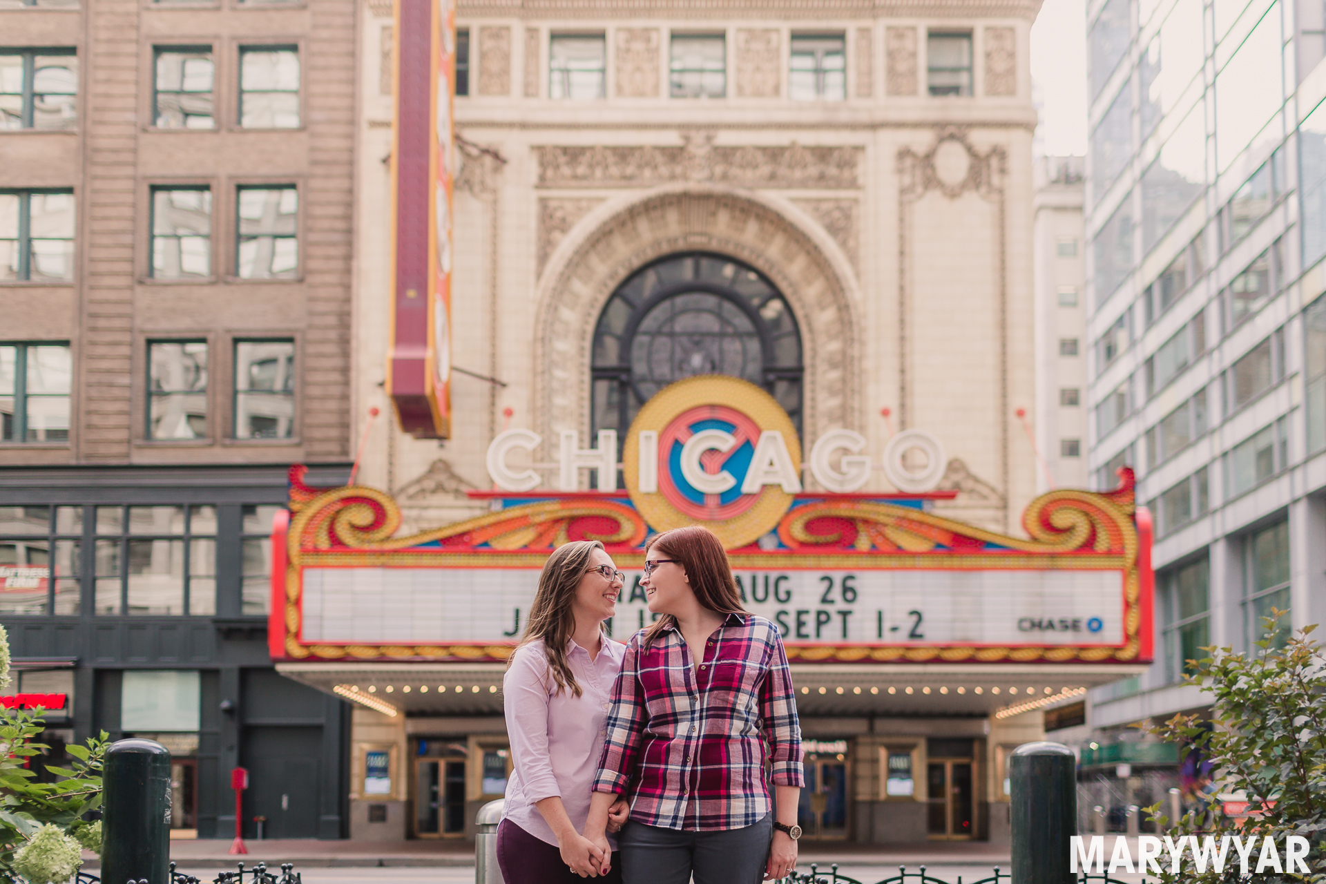 chicago art institute engagement photos