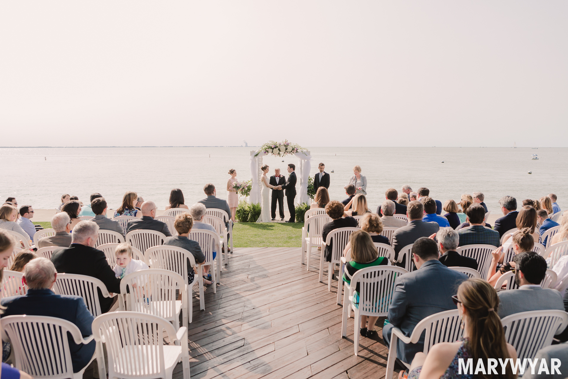 Catawba Island Club Wedding Photo