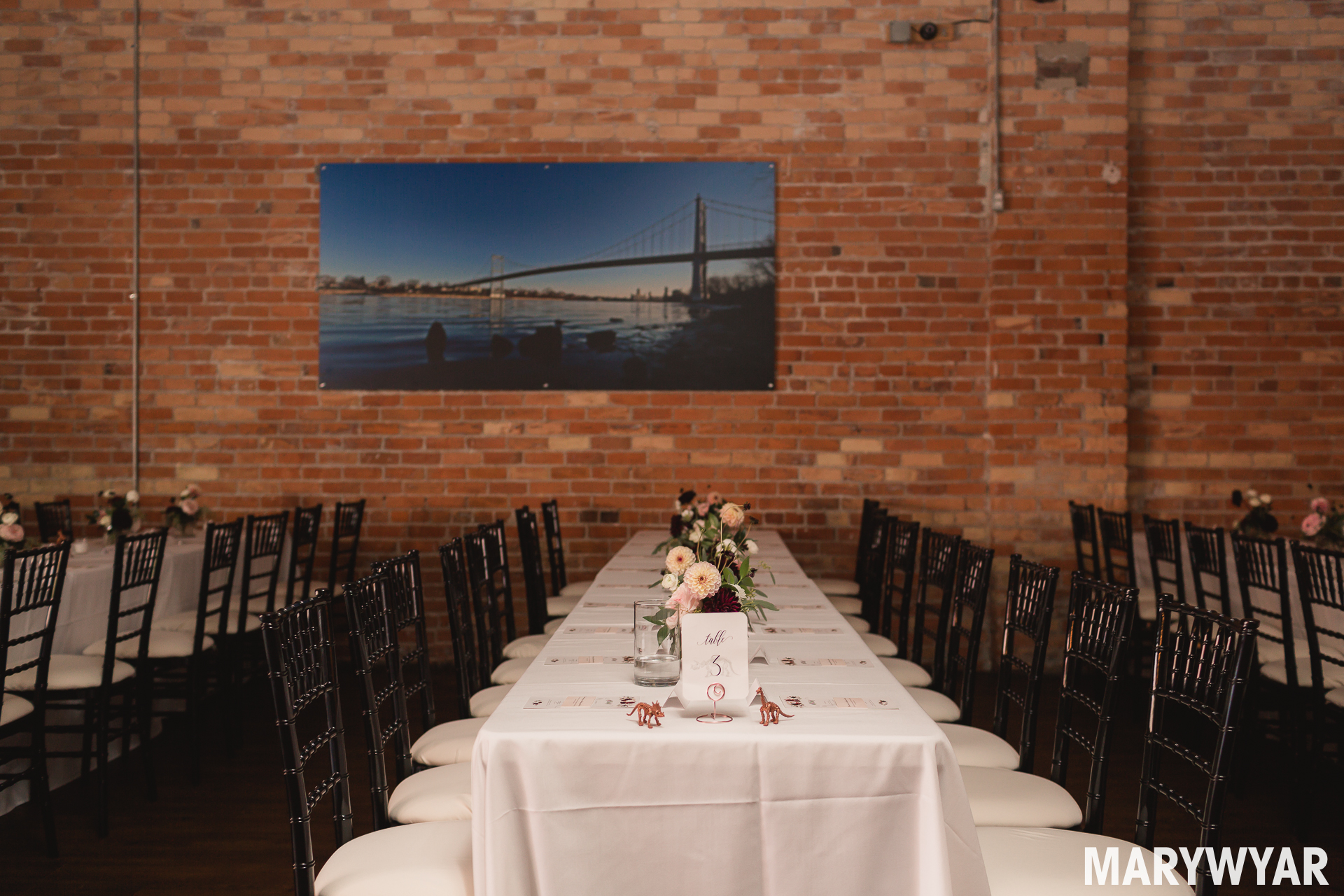 downtown toledo wedding photos at the blarney event center