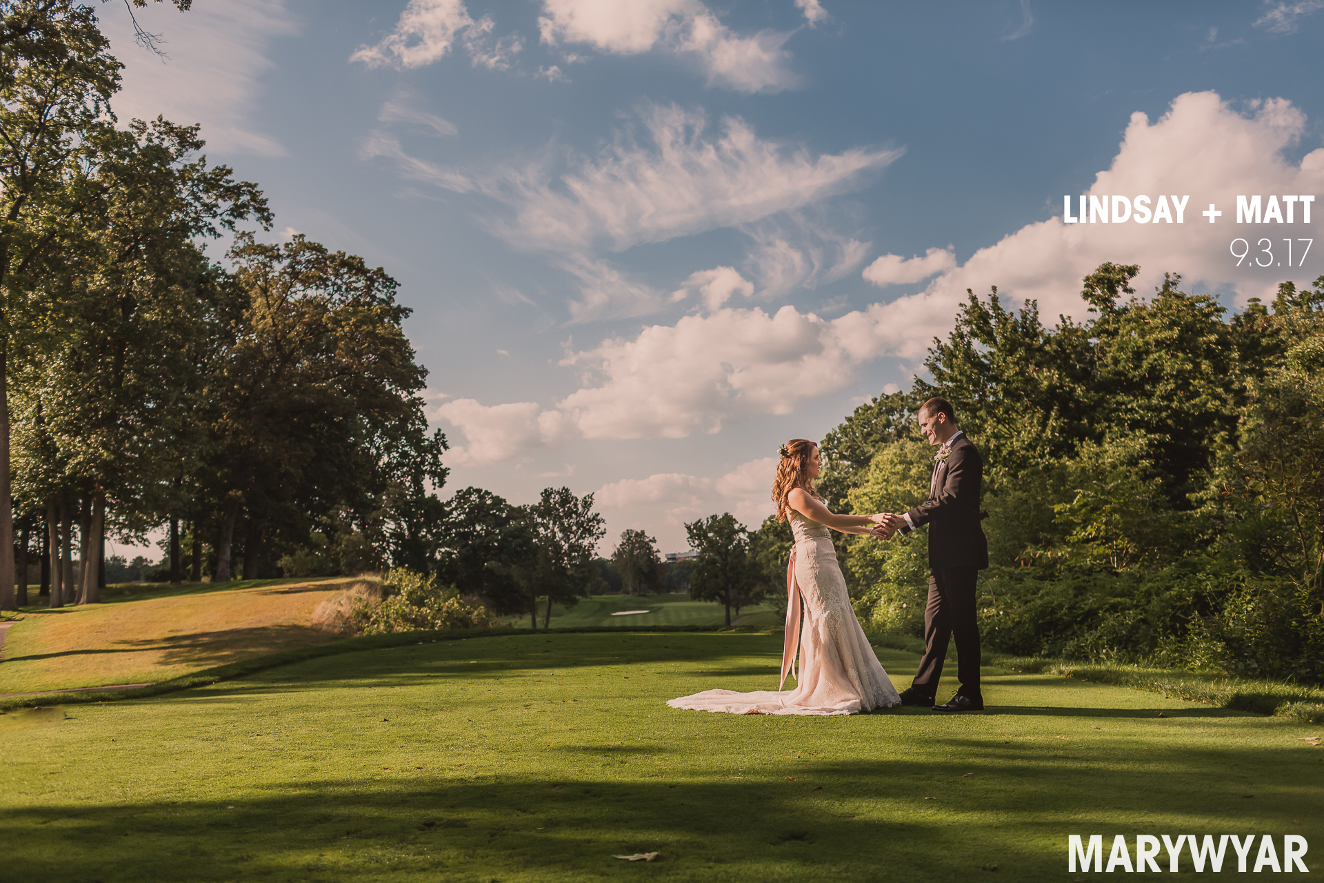 ​Sylvania Country Club wedding photos