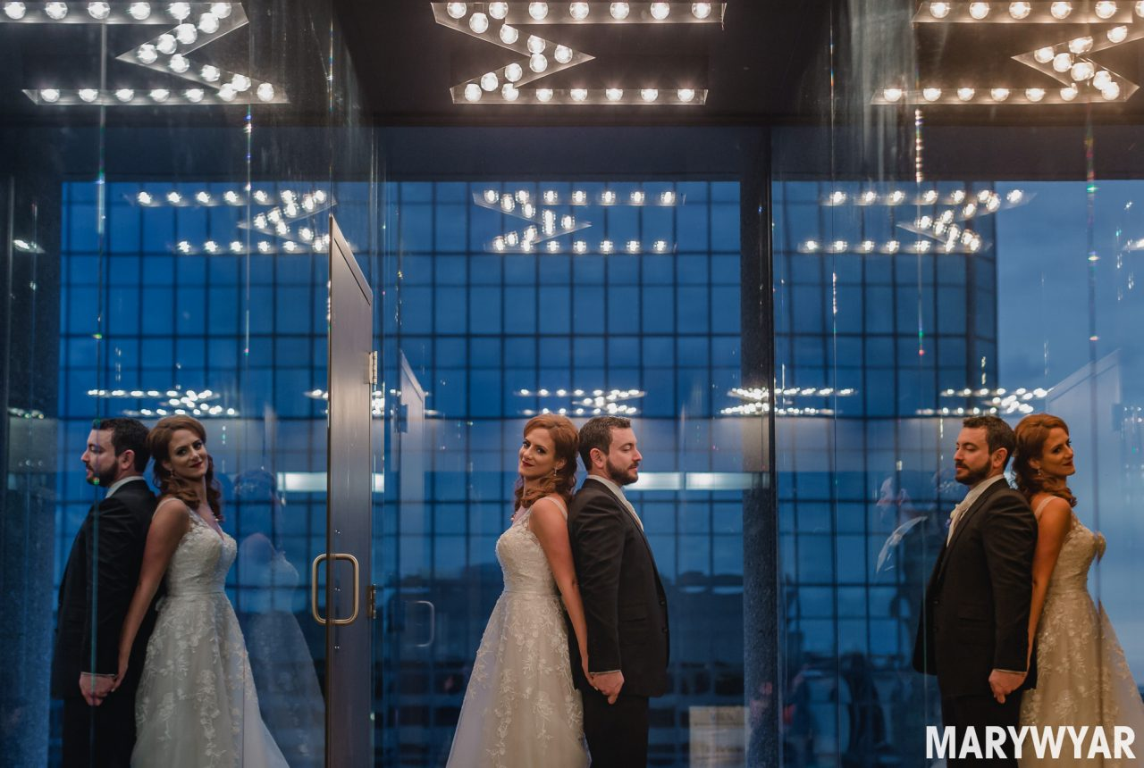 Renaissance Hotel Downtown Toledo Wedding Photos