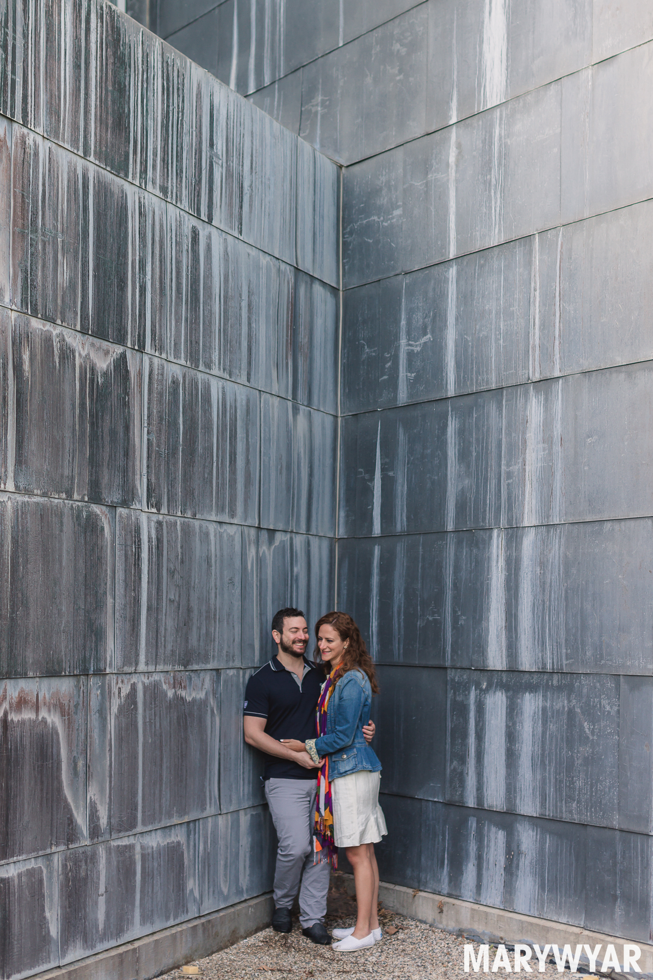 Toledo museum engagement photo