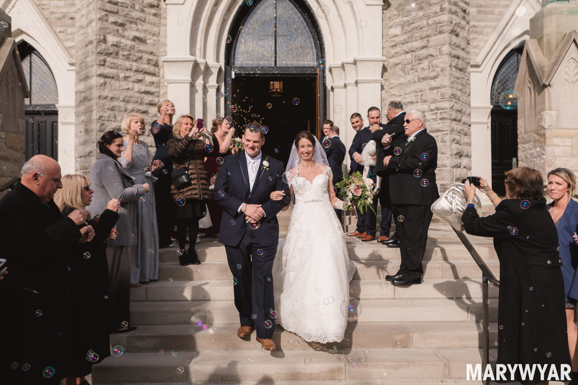 St. Rose Perrysburg Wedding Photos