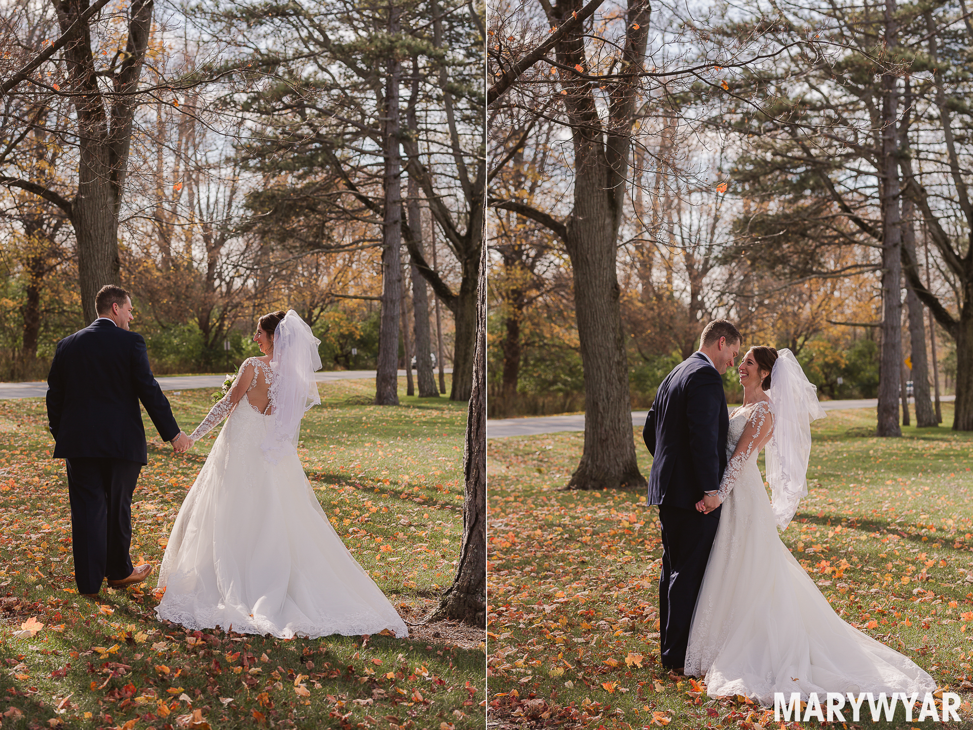 Sidecut Metro Park Maumee Wedding Photos