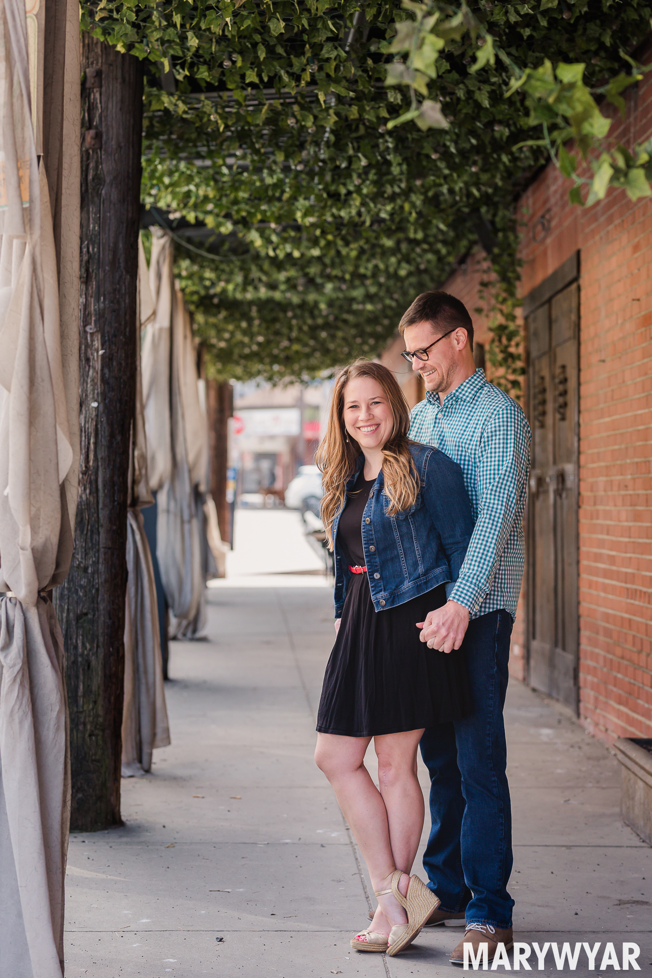 Pittsburgh Engagement Photos The Strip Downtown