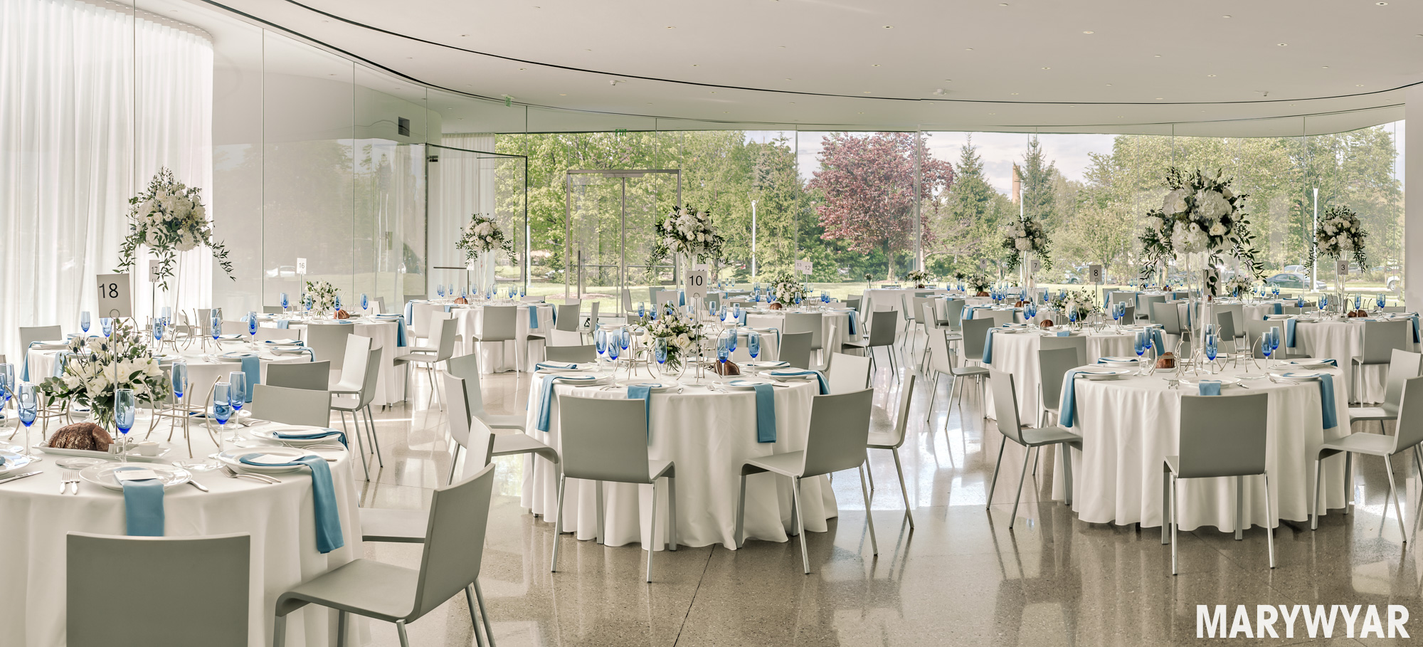 Toledo Museum of Art Glass Pavilion Wedding Photos