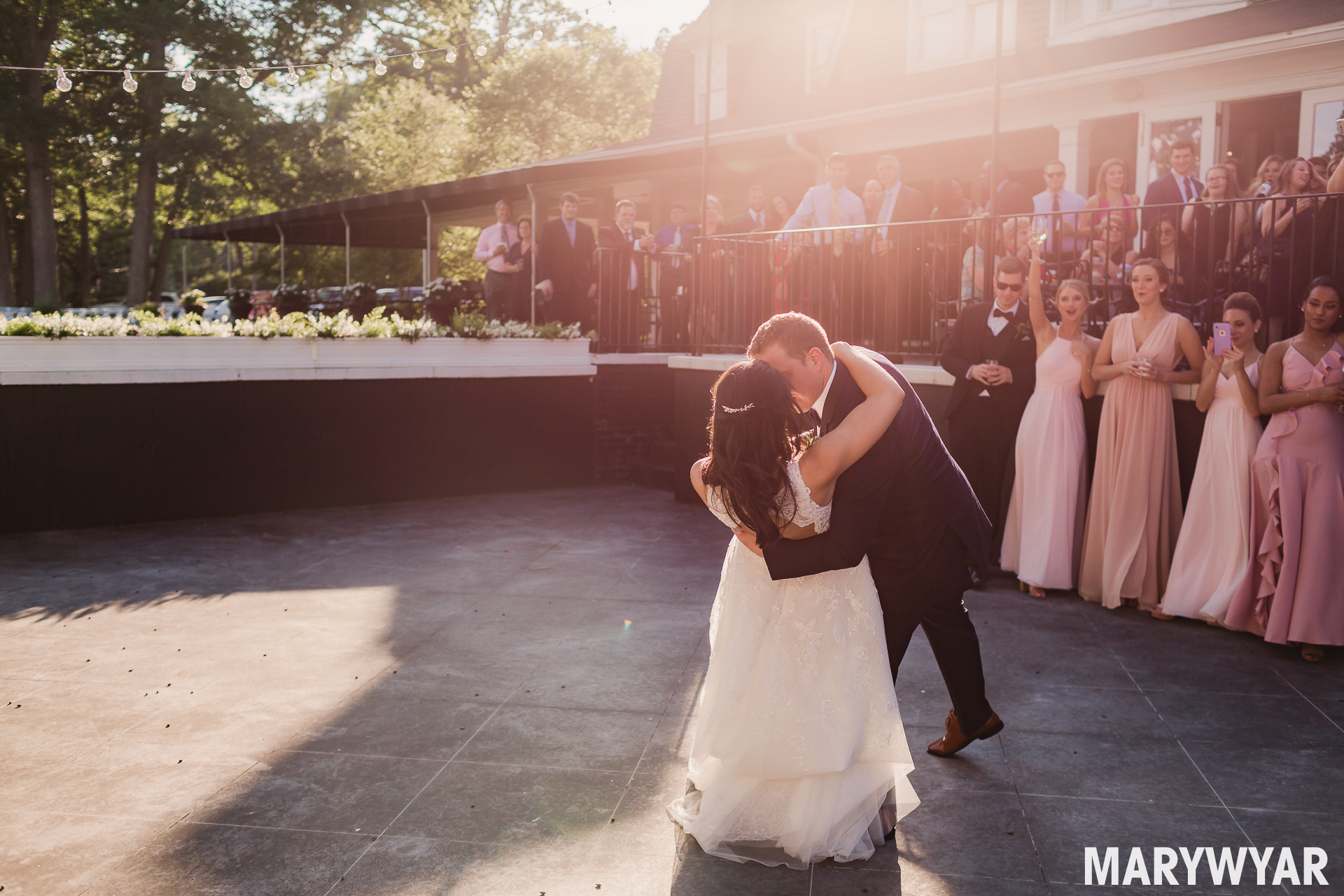 Toledo Country Club Wedding Photos