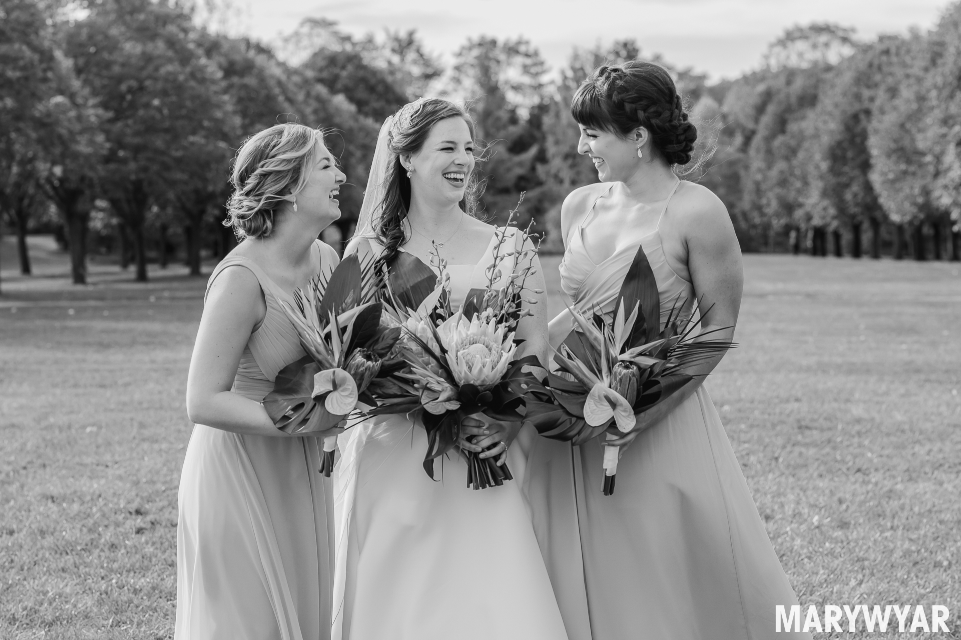 Toledo Botanical Gardens Wedding Photo